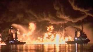 Destroyed in Seconds Oil Tanker Explosion flv