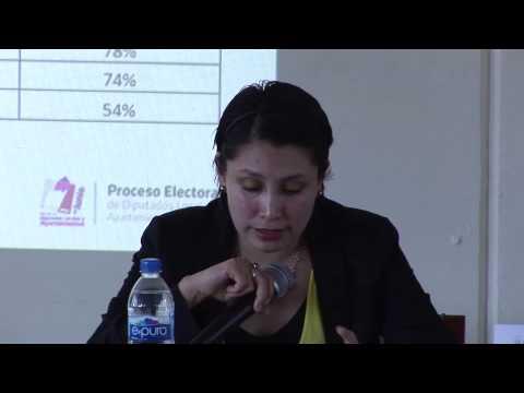 Mtra Palmira Tapia Palacios, Cuautitlan Izcalli.  Los jóvenes y la...
