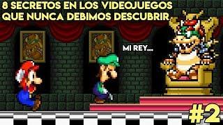 8 Secretos en los Videojuegos que Nunca Debimos Descubrir (PARTE 2) - Pepe el Mago