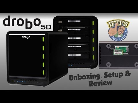 Drobo 5D - ThunderBolt & USB3 Storage Solution - Setup & Review