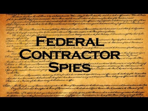Federal Contractor Spying