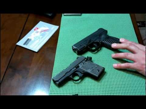 Sig Sauer P938  vs  Springfield XDs