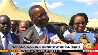 CJ Maraga denies judiciary frustrating war on graft