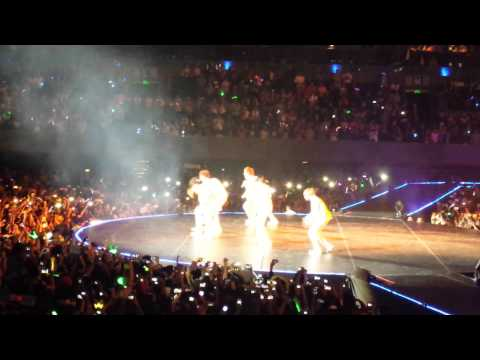 Fancam 141030 Music Bank Mexico BTS Boy In Luv
