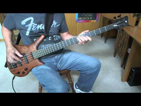 Heatwave - Ain't No Half Steppin  Greg Papaleo  Bass Cover