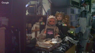 Steves-Haunted-Home: Creepy Haunted Dolls over night session. #2