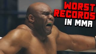 The Worst MMA Records Ever