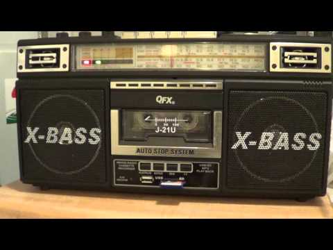 China Radio International on QFX Boombox Shortwave