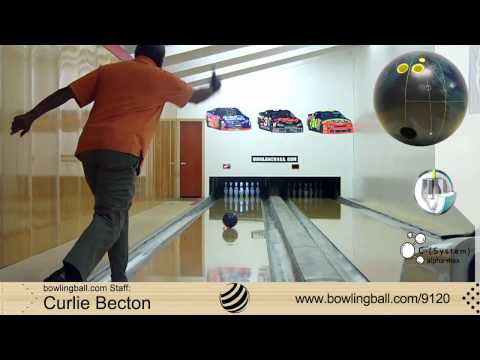 Brunswick C-System alpha-max Bowling Ball Reaction Video by bowlingball.com