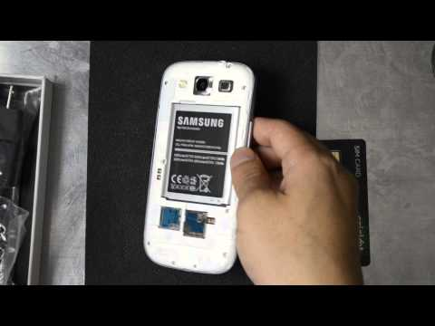 CricketUsers.com - Cricket Wireless Samsung Galaxy S3 Unboxing and First Look