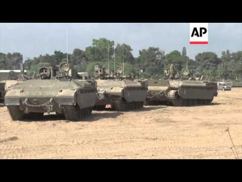 Explosions in Gaza, Israeli troops near border, IDF says it blocked attack via tunnels