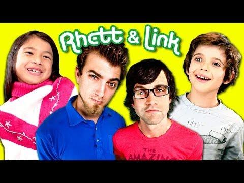 Kids react to rhett and link