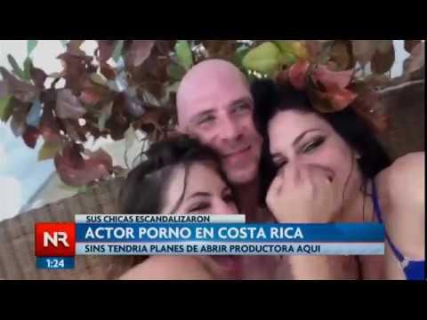Actor porno en Costa Rica: sus chicas escandalizaron