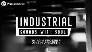 Industrial Sounds With Soul Factory Machine Sound Effects Library By Ann Kroeber Alan Splet