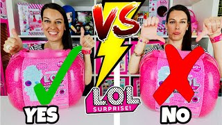 EXPECTATIONS vs REALITY of LOL SURPRISE BIGGER SURPRISE | UNBOXED! Is it WORTH IT? Wigs + Storage