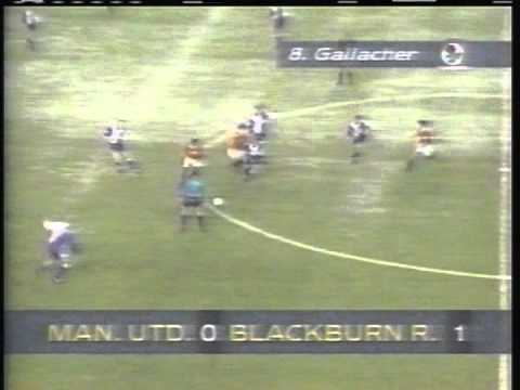 1993 (December 26) Manchester United 1- Blackburn Rovers 1 (English Premier League)