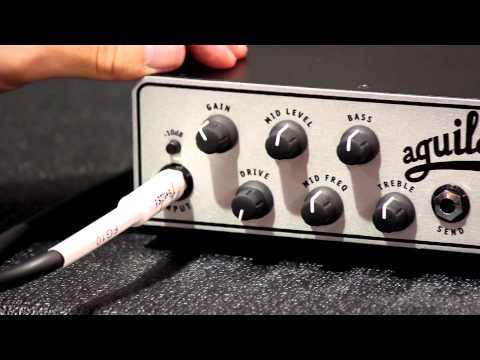 AGUILAR promotional Video TONE HAMMER 500 (bass head)