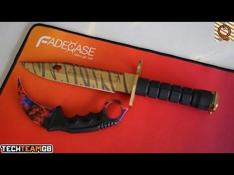 FadeCase M9 Karambit & Fade Mousepad Showcase