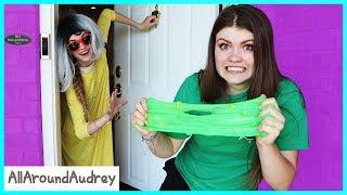 Granny Hid My Slime Ingredients! / AllAroundAudrey