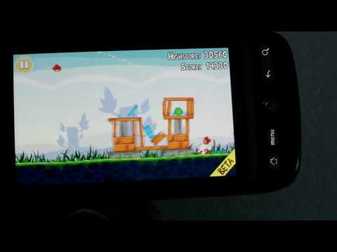 Angry Birds lite for Android review
