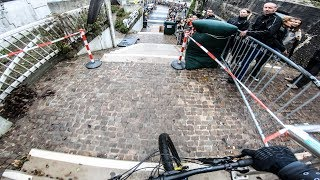 Tristan Botteram Winning Run at City Downhill Nijmegen 2019