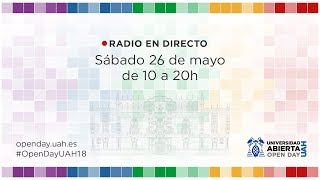 Open Day 2018: Radio en directo