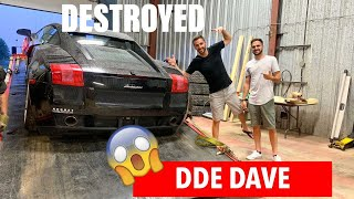 I Bought DDE Dave's wrecked LAMBO!