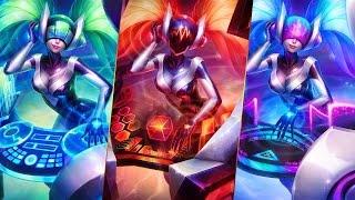 League of Legends DJ SONA Login Theme