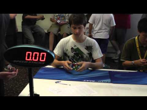 Rubik's cube: 7.57 official average