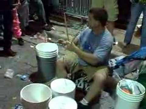 World's Fastest Street Drummer