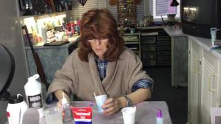 ( 006 ) Part one mixing paint for acrylic pouring