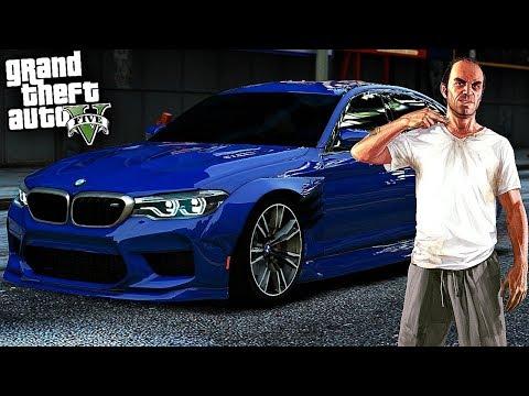 Реальная Жизнь в GTA 5 - ПОГОНЯ ОТ ПОЛИЦИИ НА УГНАННОЙ BMW M5 DimkFedorov`а!!! ЧТО ДАЛЬШЕ???🔥