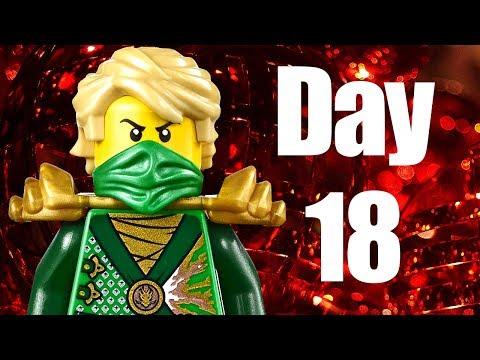 Custom LEGO Ninjago Advent Calendar 2013 Day 18 Review
