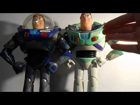 Toy Story Blue Buzz Lightyear