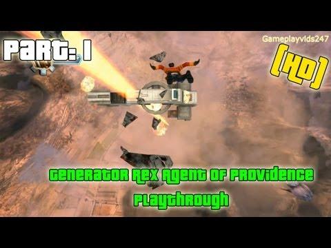 Generator Rex Agent Of Providence Walkthrough: Part 1 - (Xbox 360 / Playthrough / Gameplay)