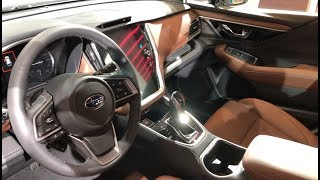 All New 2020 Subaru Outback Interior Review (Huge Touch Screen!)