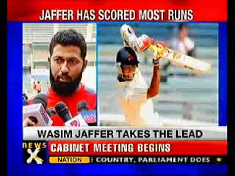 Jaffer highest scorer in Ranji