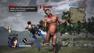 Attack On Titan Playthrough #16 Game Goes BEYOND The Anime?! Beast Titan WTF!