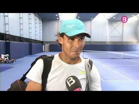 Rafael Nadal prepares for Wimbledon in Manacor, Mallorca (+ INTERVIEW)