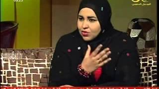 الشاعرة منى حسن  الحاج - لقاء برنامج بيتنا -تلفزيون السودان