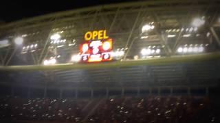 GS 2-0 FB 6 NİSAN 2014, FENER AĞLAMA, MELO TELLES DANS