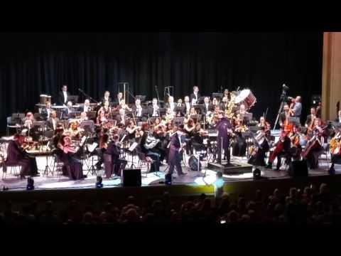 Radu Gheorghe si Orchestra Simfonica Bucuresti in Ucenicul Vrajitor