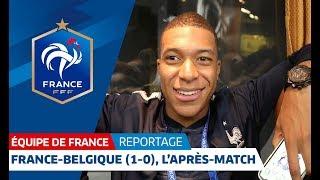 Equipe de France : Dans le bus des Bleus après France-Belgique (1-0) I FFF 2018