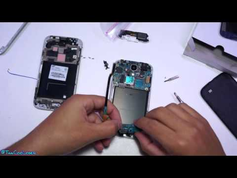 How I fixed my Galaxy S4 - Front LCD replacement - Swapping internals