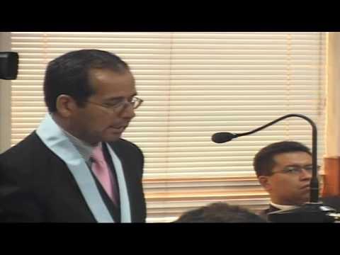 La intervención más destacada en el Juicio a Alberto Fujimori