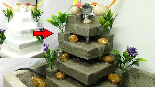 Awesome Latest Cement Water Fountain| Cemented Life Hacks