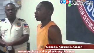 VIDEO - Listen to Sonson, one of the kidnappers of Lencie Mirville