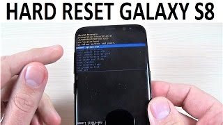 HARD RESET Samsung Galaxy S8, S8+ and NOTE 8 | How to
