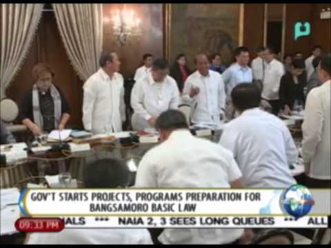 NewsLife: Gov't starts projects, programs preparation for Bangsamoro Basic Law