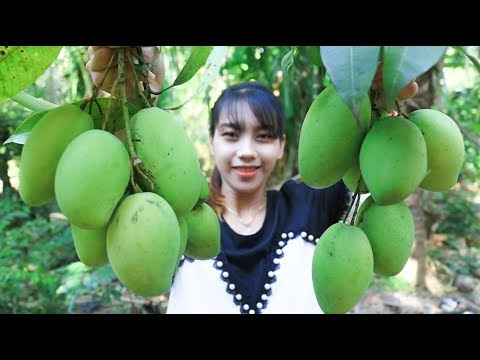 Yummy cooking green mango with fish recipe - Cooking skill